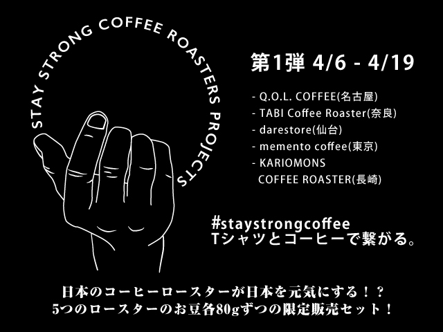 STAY STRONG COFFEE ROASTERS PROJECTS
