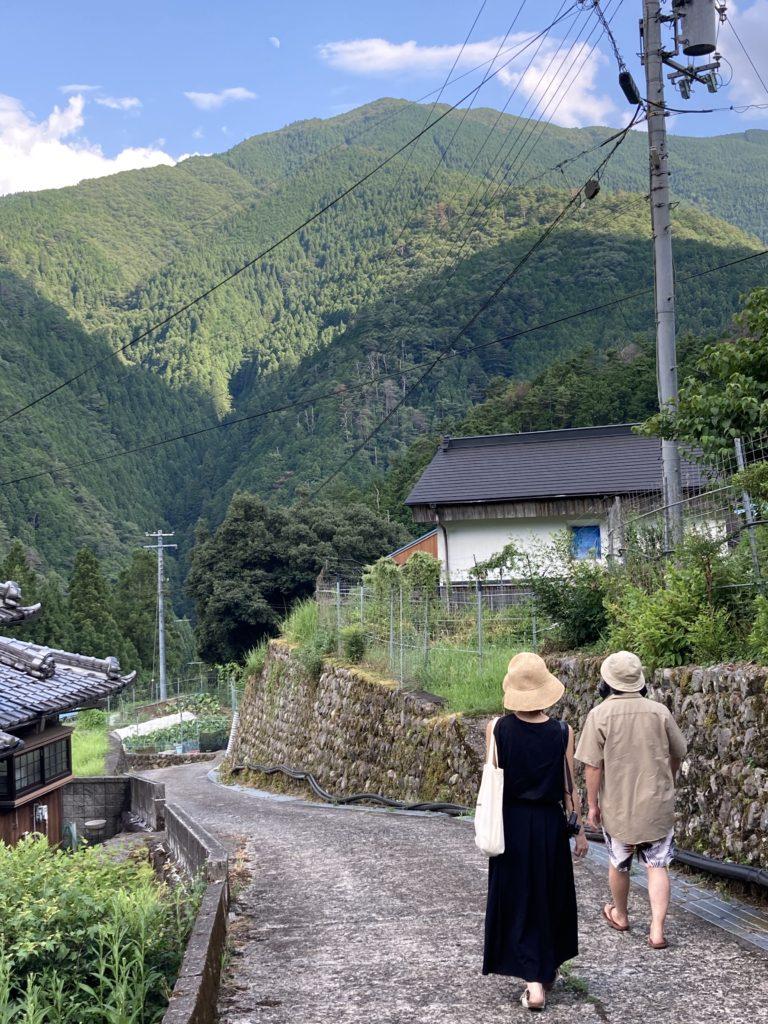 十津川なんばが育つ集落